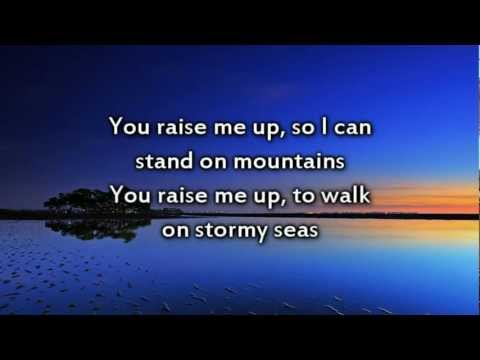 You Raise Me Up - Instrumental with lyrics