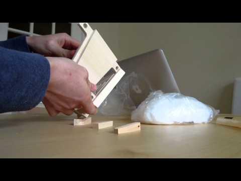 Unboxing a mold to make Paska, pasca, paskha, pascha