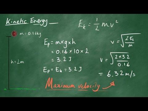 Kinetic Energy - GCSE Physics Revision