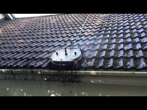 Roof Cleaning - Tile Roof - Moss Removal