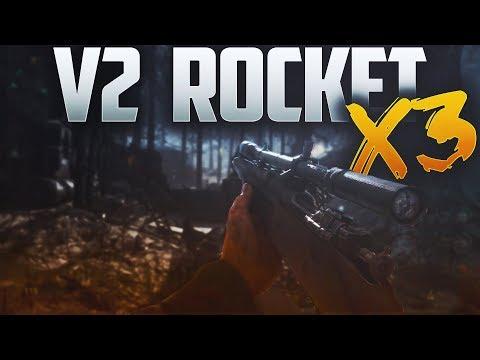 TRIPLE V2 ROCKETS IN 1 GAME!!! (Cod World War 2)