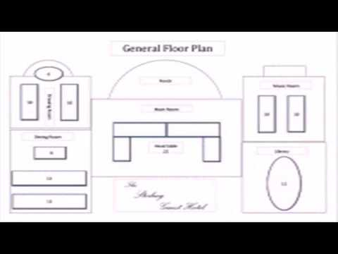 Floor Plan With Excel