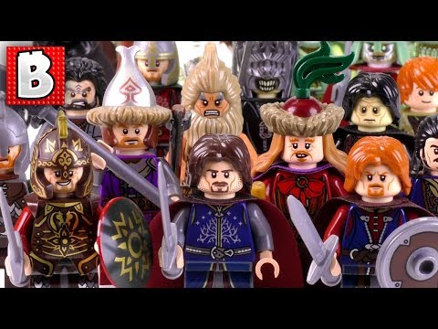 Every LEGO Man LOTR Minfigure Ever Made!!! + Rare Theoden