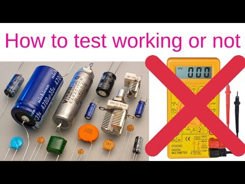 How to test a Capacitor Without a Multimeter