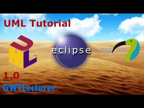 UML Tutorial 1.0 - Basics of Use Case Diagrams in Eclipse with Papyrus