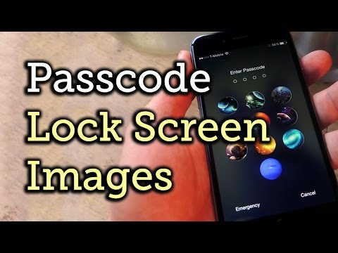 Replace Your iPhone's Lock Screen Passcode Digits with Images [How-To]