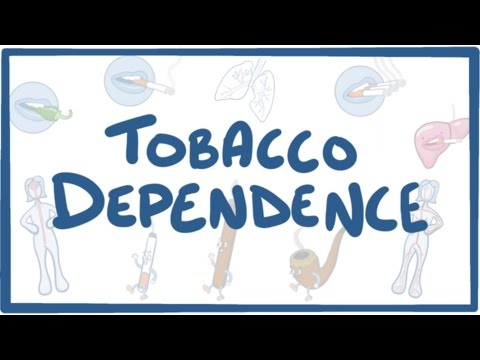 Tobacco Dependence - causes, symptoms, diagnosis, treatment, pathology