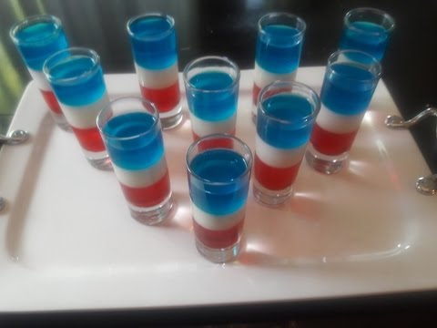 Simply Lavish at Home: 4th of July Jello Shots