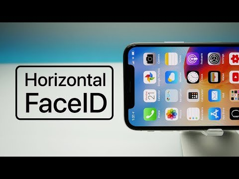 Horizontal FaceID Could Be Coming To iPhone X