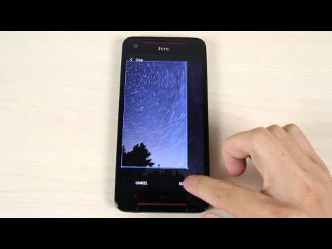 How to change the home screen and lock screen wallpaper on HTC Butterfly S