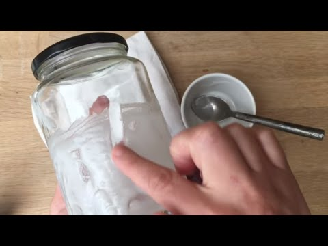How to remove a label from a jar - Simple and easy tutorial - Craft Basics - Life Hacks