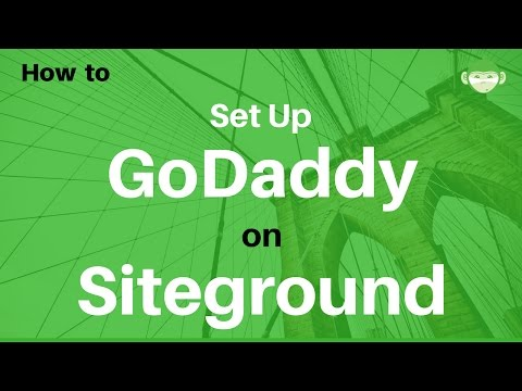 How to Setup a Godaddy Domain Name on Siteground Hosting Account