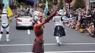 2010 Star Wars Weekends Celebrity motorcade parade at Disney