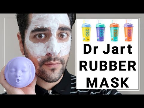 Dr Jart Shake And Shot Rubber Mask Review - Korean Skincare ✖ James Welsh