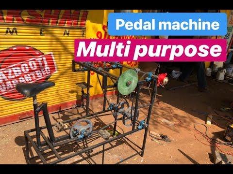 Multipurpose Machine   Pedal Machine