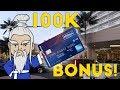 New HILTON AMEX Gives 100k BONUS!!