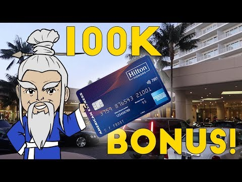 New HILTON AMEX Gives 100k BONUS!!