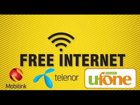 Free 3G with 0 balance in pakistan Ufone Telenor Jazz Warid 2016 in URDU