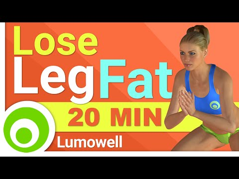 Lose Leg Fat Cardio Workout - 20 Minutes