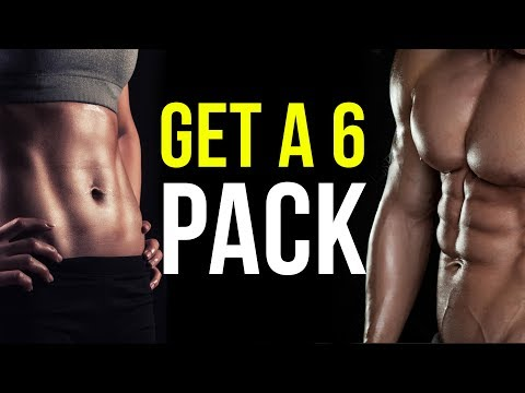 How To Get a SIX PACK - Tips to build muscle and lose belly fat to show your sexy 6 pack abs!