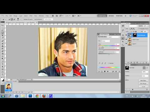 (Tuto) How To Change Hair Color On Photoshop Cs5/6