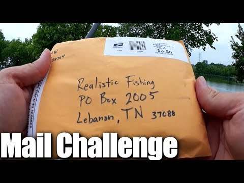 Bass fishing with Lures sent in by Subscribers - Fishing Challenge!