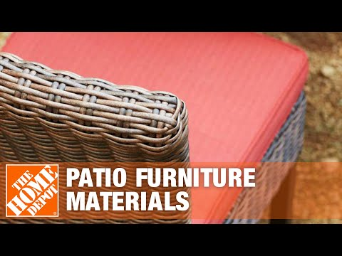 Patio Furniture Materials