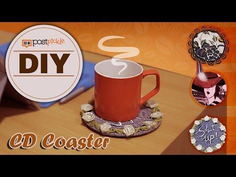 DIY CD Coaster