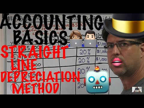 Accounting for Beginners #62 / Straight Line Depreciation Method / Accounting Tutorial 101