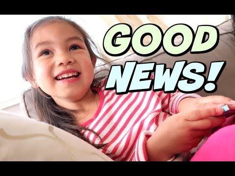 BREAKING THE GOOD NEWS!!! -  ItsJudysLife Vlogs