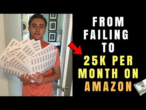 From 3 Failed Products To 25K A Month Private Label on Amazon FBA
