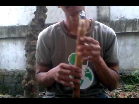 Bamboo Saxophone Demonstration - My Heart Will Go On