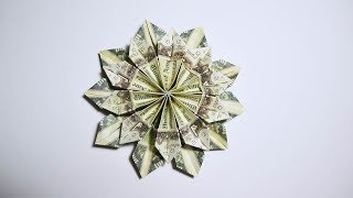 Origami 1 butterfly tutorial remake easy and fast money flower origami 10 do mightylinksfo