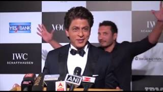 Check Out What Shah Rukh Khan Has To Say At The Vogue Women Of The Year Awards 2017