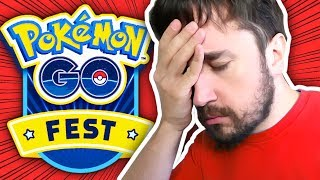 A VERDADE SOBRE POKEMON GO FEST! - Pokemon Go (Parte 60)