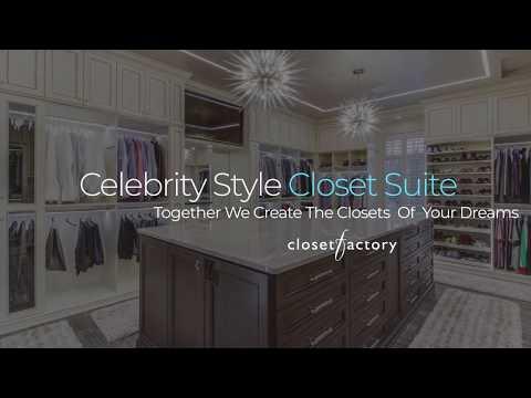 Closet Factory Celebrity Styled Closet