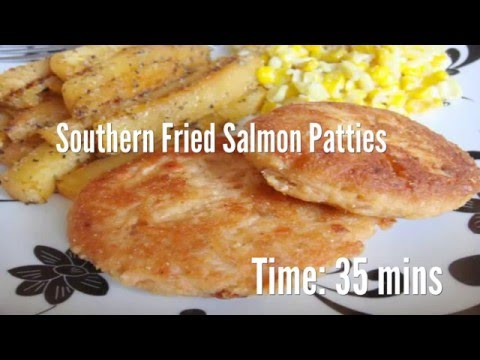 Southern Fried Salmon Patties Recipe