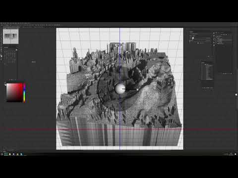 Making 3D Geometry in Photoshop CC
