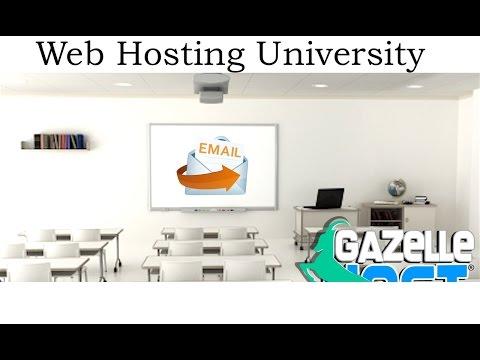 Thunderbird in cPanel- GazelleHost Web Hosting Training - gazellehost.com/whu