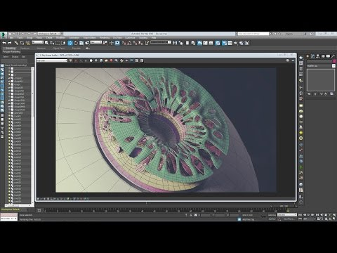 3ds max 2016 - Eye,Part 3 - surround the pupil