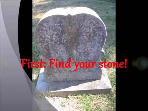 How To Do A Gravestone Casting