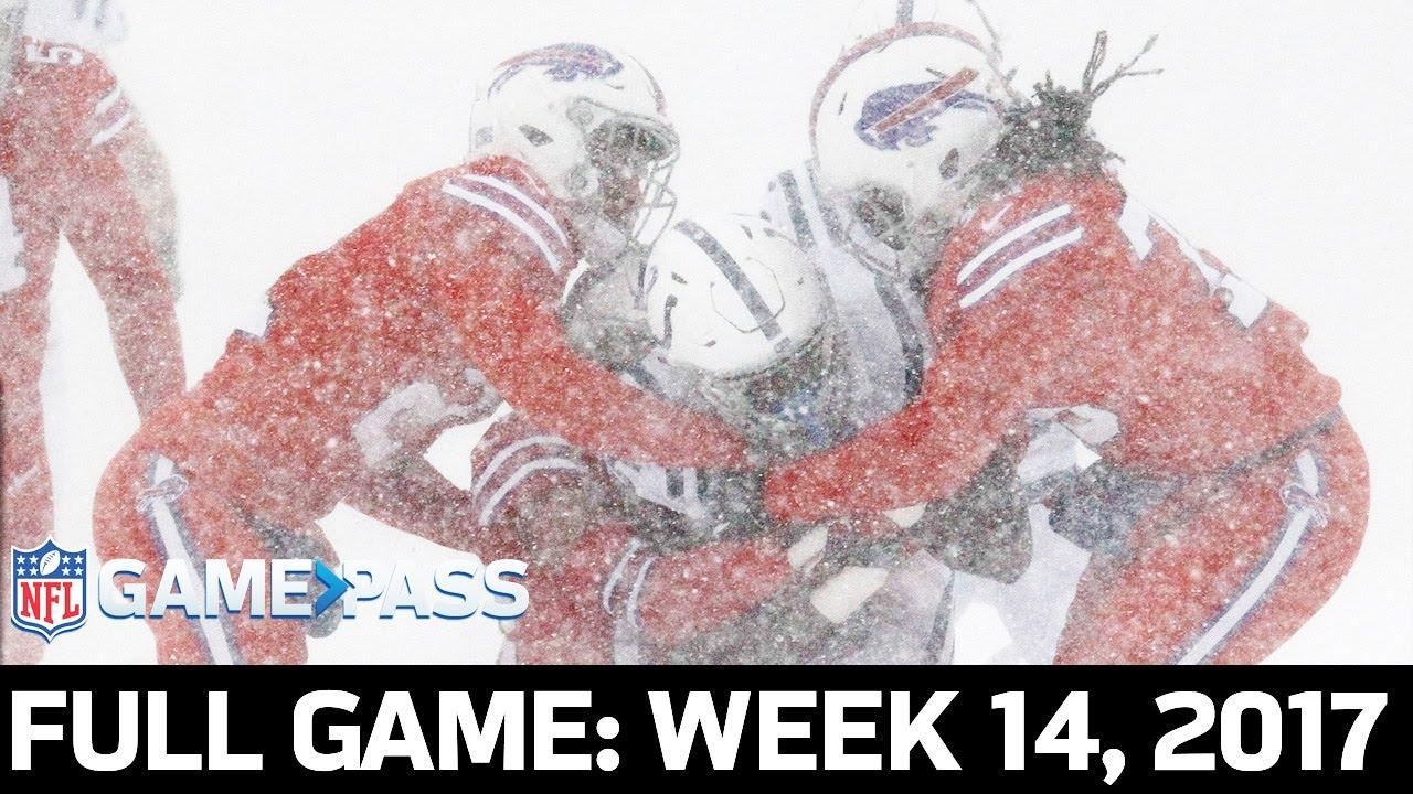Indianapolis Colts vs. Buffalo Bills Week 14, 2017 FULL Game