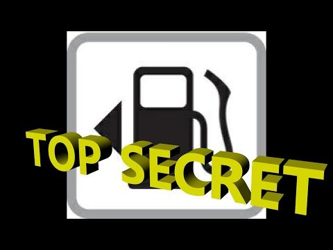 Fuel Fill Secret, Right On Dashboard