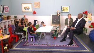 Ellen and Steve Harvey Talk to Kids