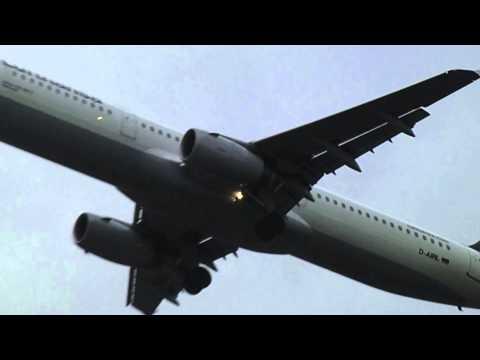 Lufthansa aborted landing at Birmingham International Airport