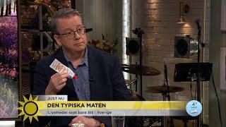Här är märkliga maten som bara äts i Sverige - Nyhetsmorgon (TV4)