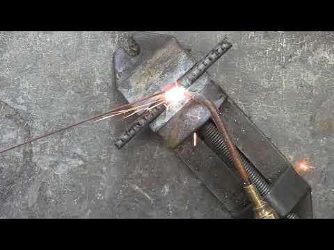Gas Welding Rebar