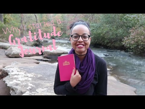 Why I Started a Gratitude Journal