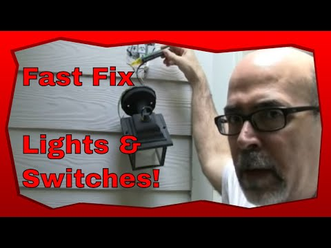 How To Troubleshoot Light Switches and Light Switch Wiring