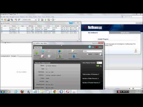 Java Netbeans Database Application MasterJam 2